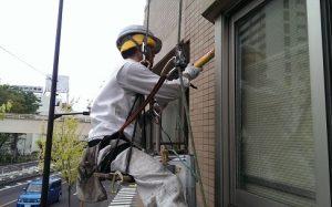 窓廻りのシール打ち替え