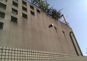 施工前の外壁