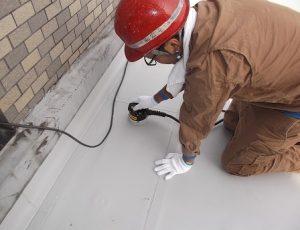 屋上床防水工事