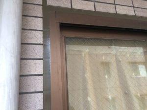 窓廻りシールの打替え