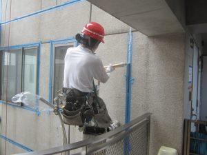 外壁打継目地の打替え工事