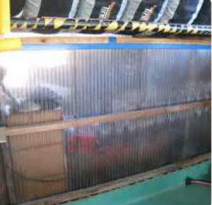 自社で設置する廃材置き場